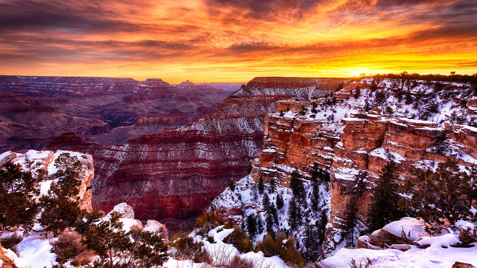 Grand-Canyon-National-Park-Winter