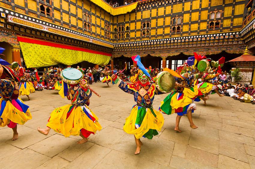 Paro-Tsechu-Bhutan