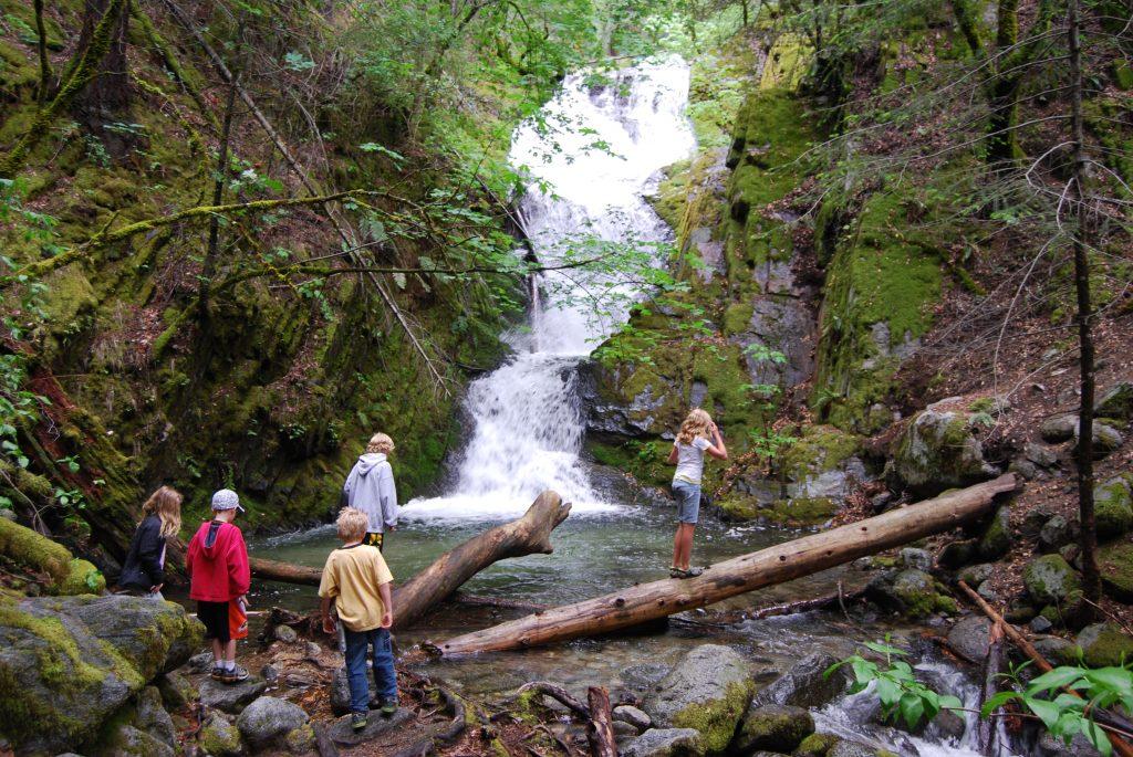 Boulder-Creek-Falls-California